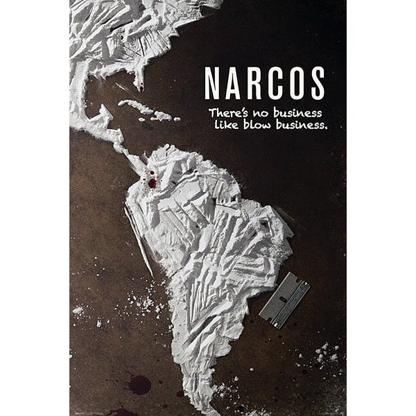 Narcos Poster There's no