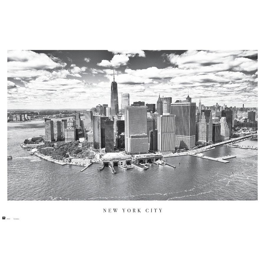 new york city skyline als poster bei close up im online store. Black Bedroom Furniture Sets. Home Design Ideas