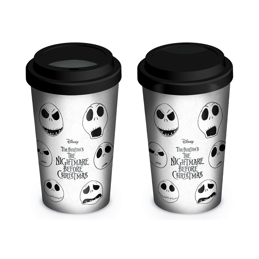 Nightmare Before Christmas Travel Mug Faces of Jack - Tassen, Gläser ...