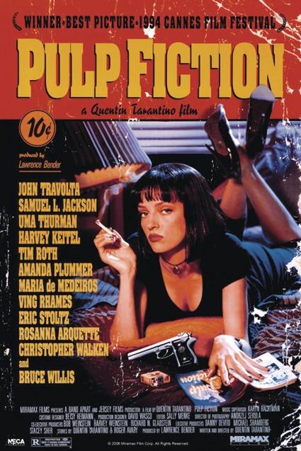 Pulp Fiction Poster Poster Großformat Jetzt Im Shop Bestellen