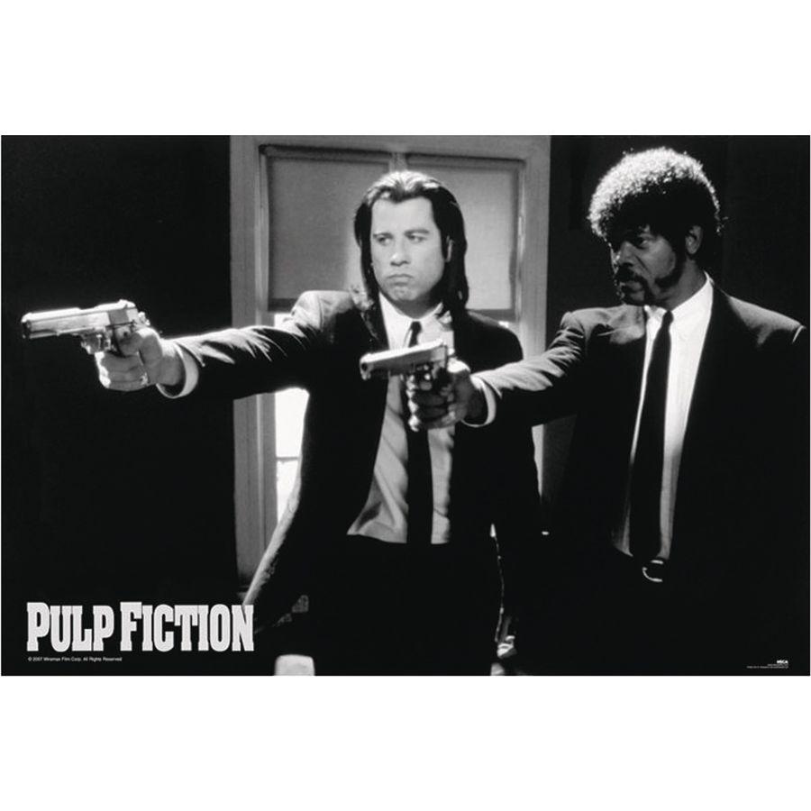 Pulp Fiction Poster Guns Poster Großformat Jetzt Im Shop Bestellen