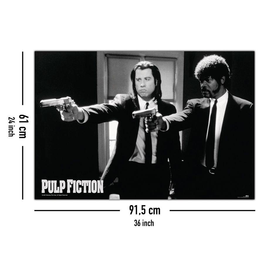 Pulp Fiction Poster Guns   Poster Großformat jetzt im Shop ...