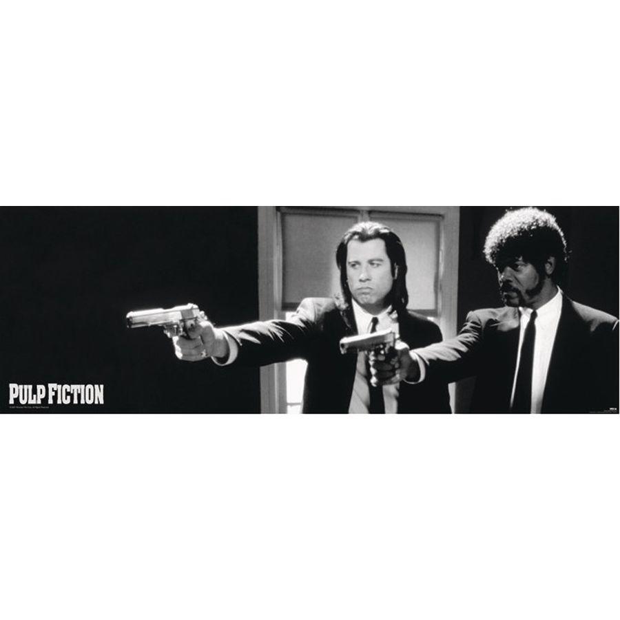 Pulp Fiction Poster Langbahnposter Jetzt Im Shop Bestellen Close