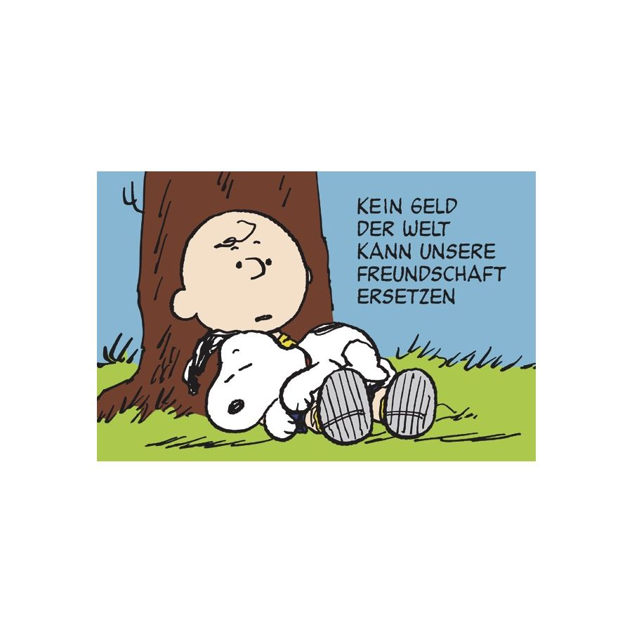 Peanuts postkarten poster fanartikel bei close up im - Charlie brown bilder ...