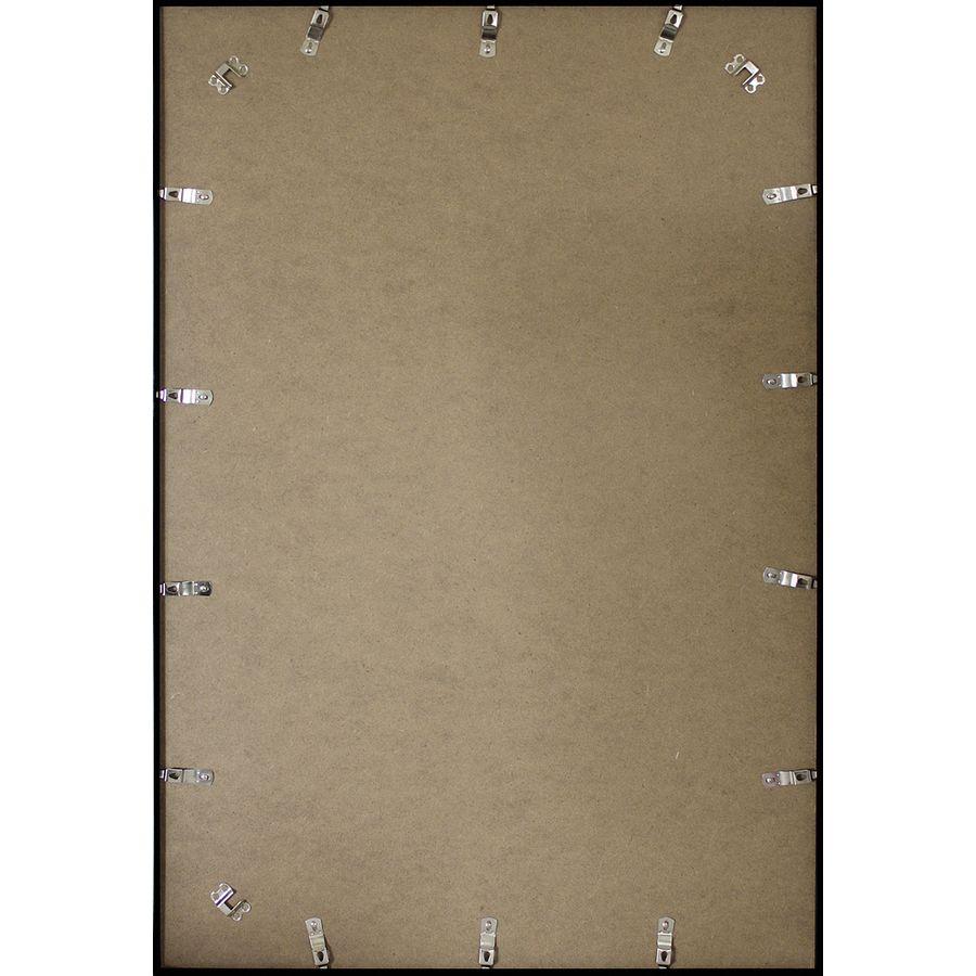 Posterrahmen, Bilderrahmen, schwarz, 61x91,5 cm | Acrylglas