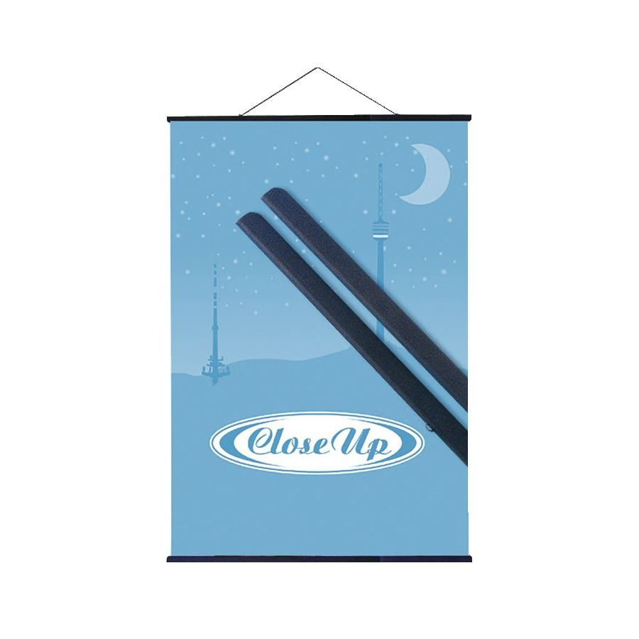 Posterleisten schwarz 70 cm - (Paar), Alternative zum Rahmen ...