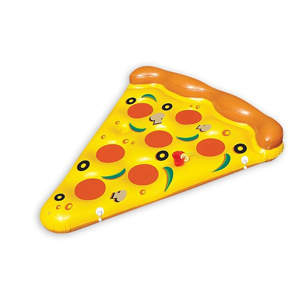 Pizza Schwimminsel
