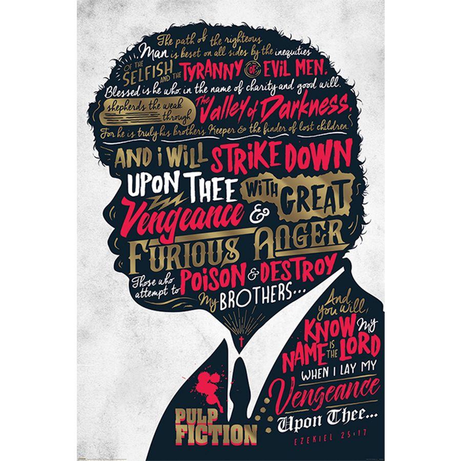 Pulp Fiction Poster Ezekiel 2517 Poster Großformat Jetzt Im Shop