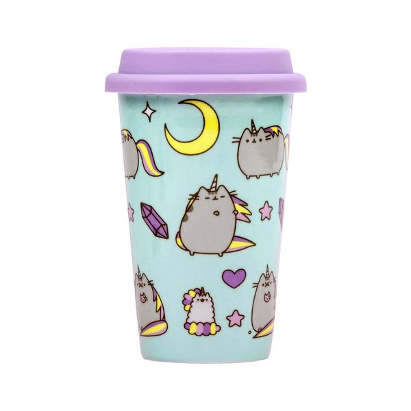 Pusheen Travel Mug Night