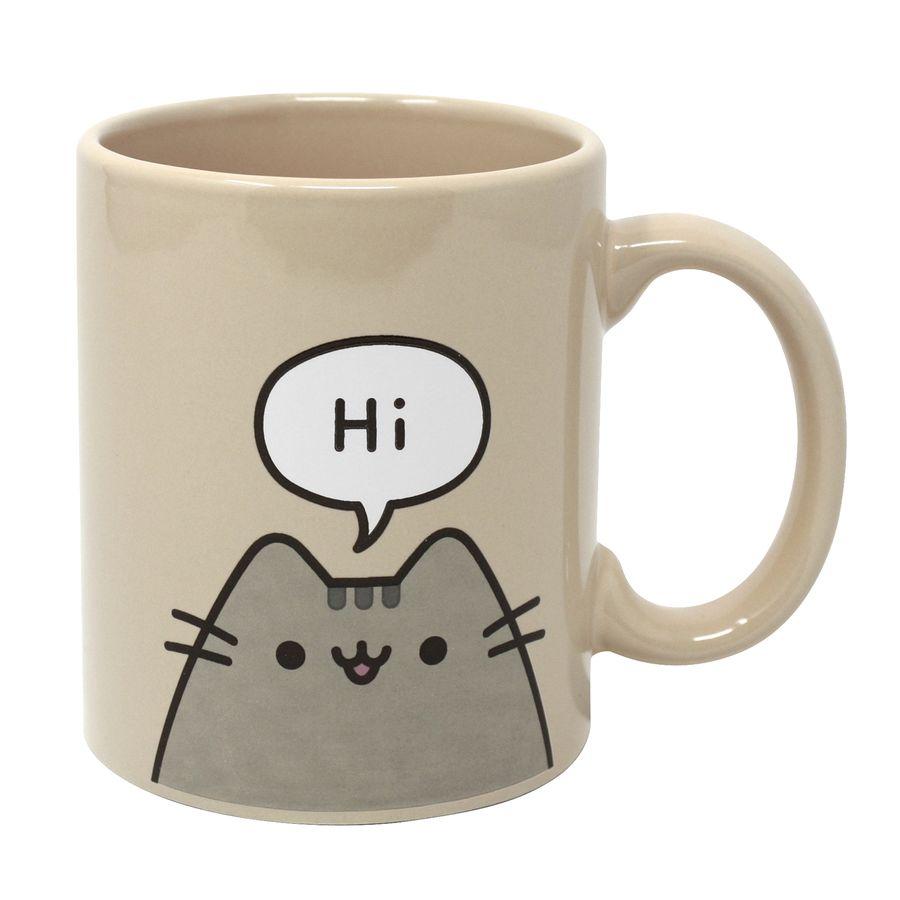 Pusheen The Cat Tasse Hello Goodbye Tassen Gläser Schalen Jetzt