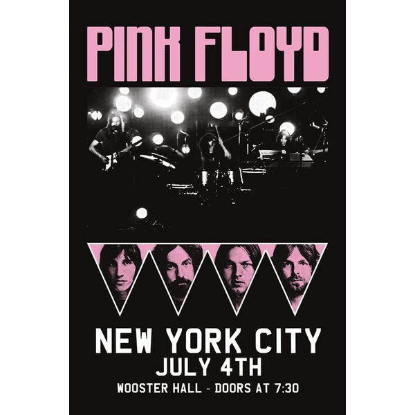 Pink Floyd Poster NYC Billing
