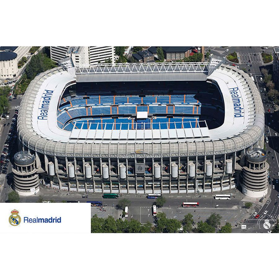 real madrid stadion poster estadio santiago bernabeu poster gro format jetzt im shop bestellen. Black Bedroom Furniture Sets. Home Design Ideas