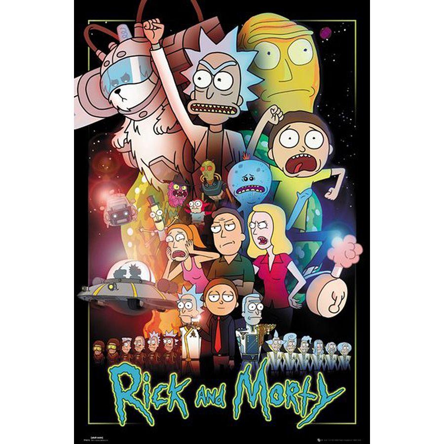 Rick Morty Poster Und Fanartikel Fan Shop