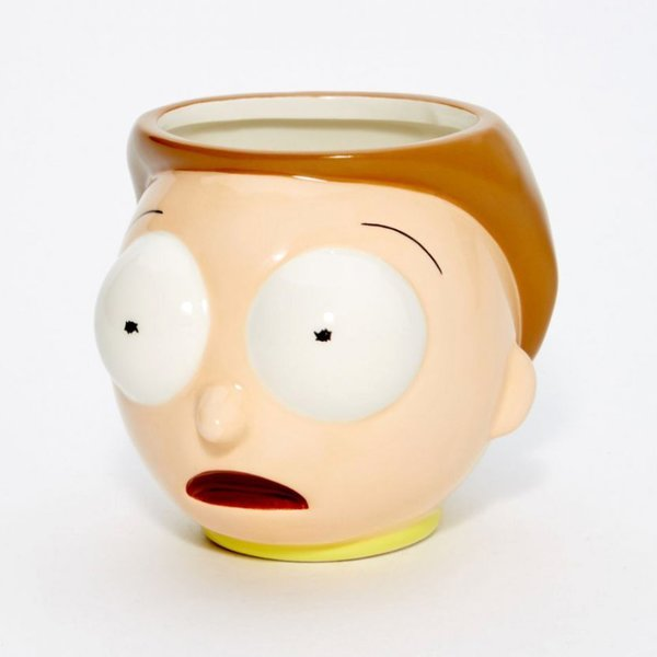 Rick and Morty Tasse Morty 3D
