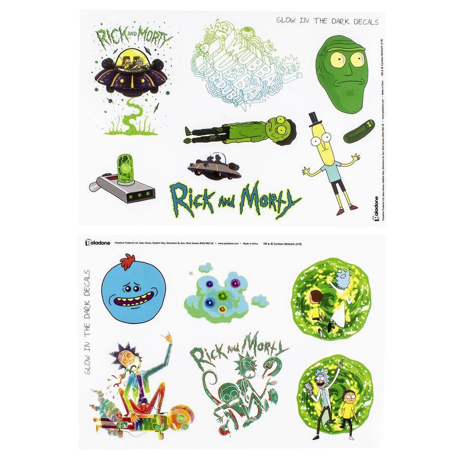Rick And Morty Sticker Aufkleber Jetzt Im Shop Bestellen