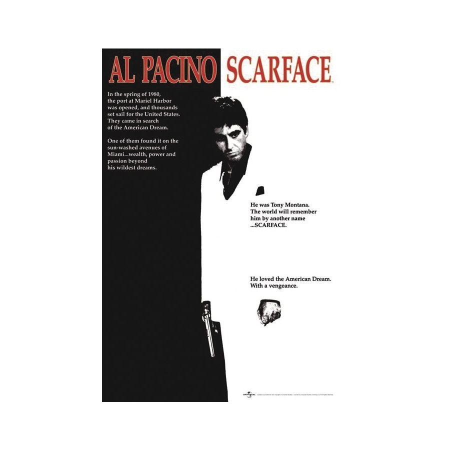 Scarface Cover Poster - Poster Großformat jetzt im Shop bestellen ...