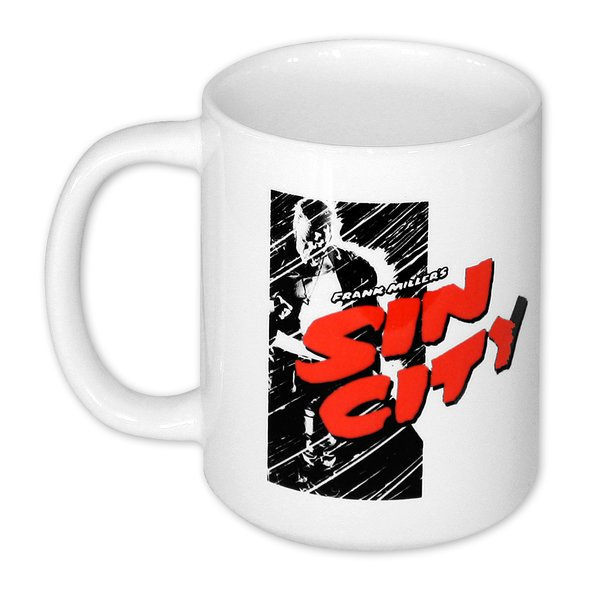 Sin City Tasse Comic Logo
