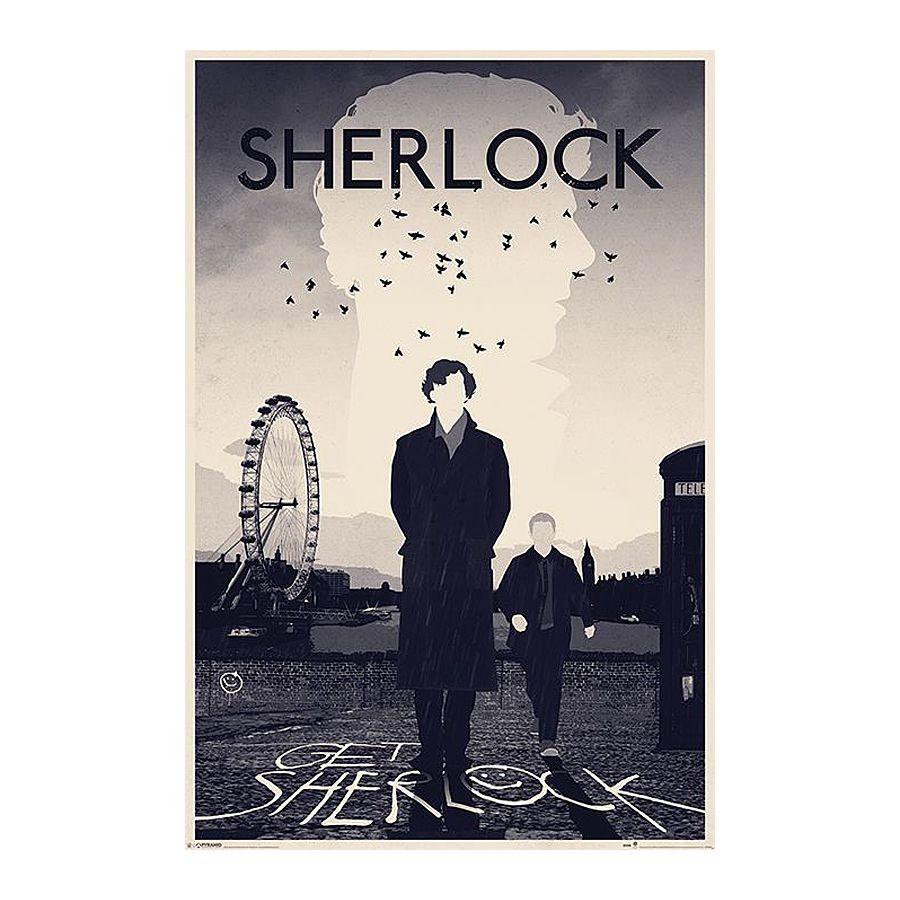 Coole Sherlock Holmes Poster bei Close Up im Fanshop kaufen