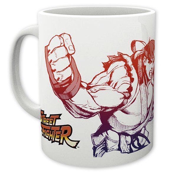 Street Fighter Tasse Ryu