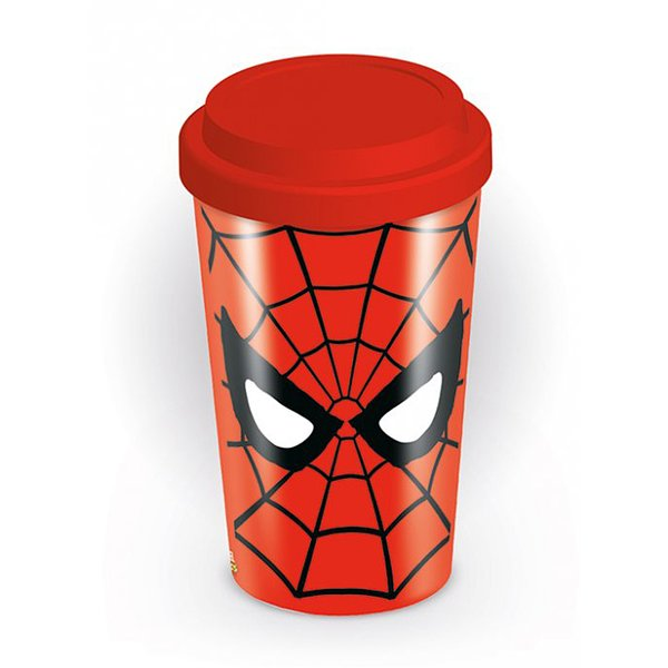 Spiderman Travel Mug Logo