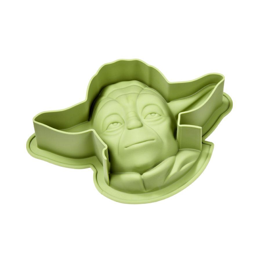 Star Wars Backform Yoda XL, aus Silikon, 16x 18x 7,2 cm