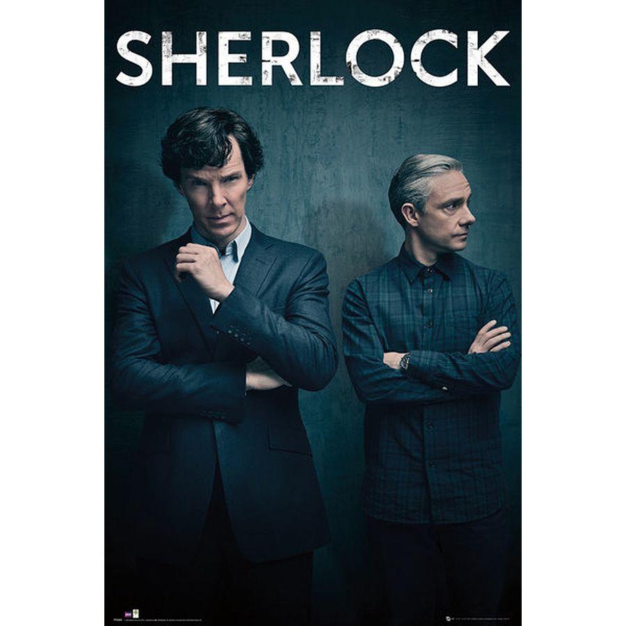 Sherlock Poster Series 4 Iconic - Poster Großformat jetzt im Shop ...