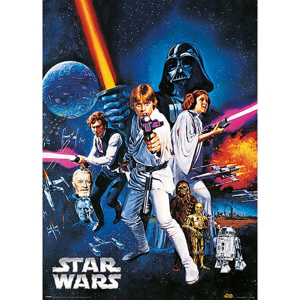Star Wars Metallic Poster