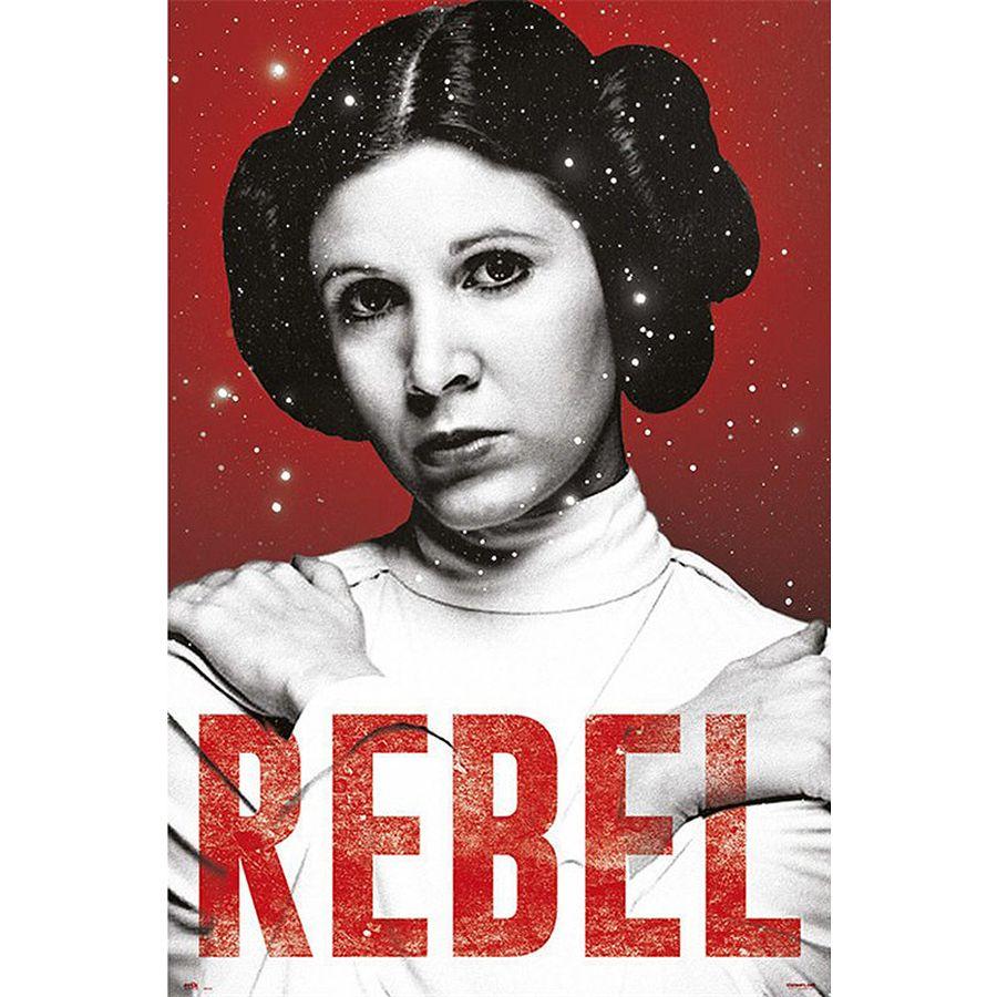 Star Wars Poster Rebel Prinzessin Leia Poster Grossformat Jetzt Im