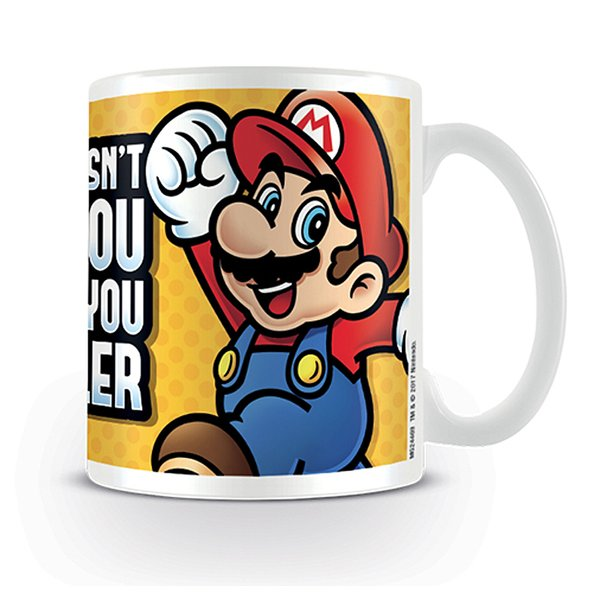 Super Mario Tasse What Doesn't