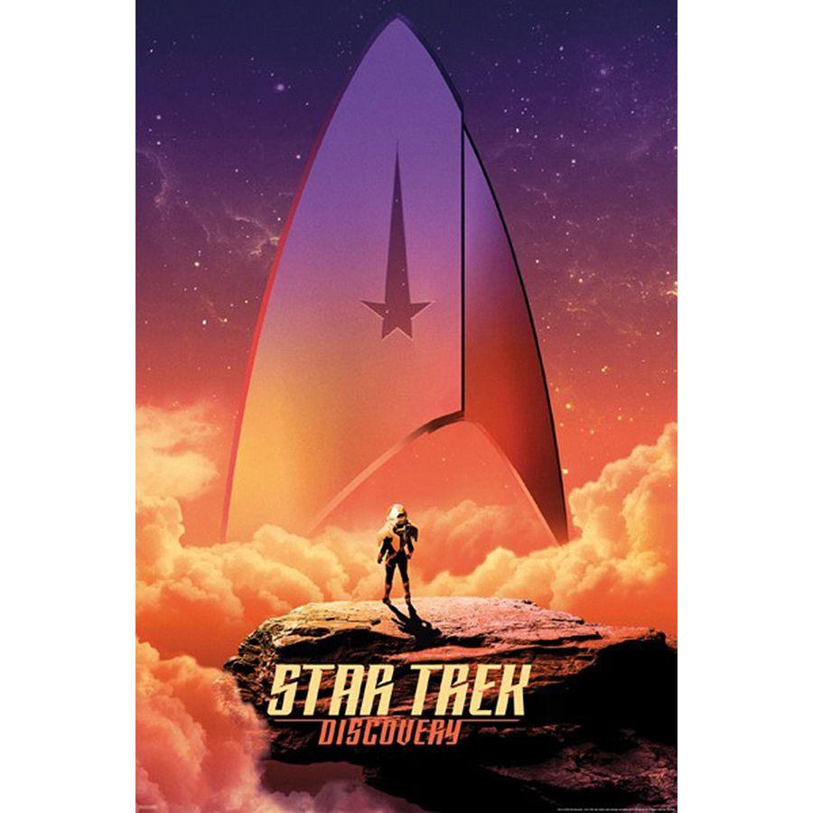 Star Trek Discovery Poster Sky Badge Poster Großformat Jetzt Im