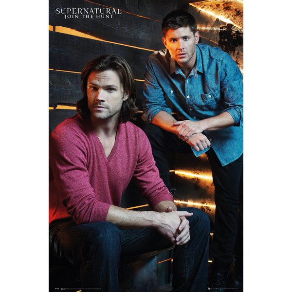 Supernatural Poster Brothers