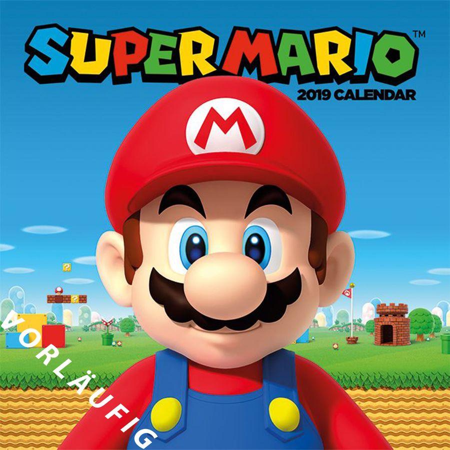 Supermario Kalender 2020