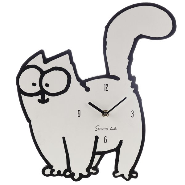 Simon's Cat Wanduhr