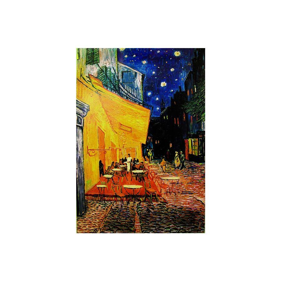 Terrasse De Cafe La Nuit Poster Vincent Van Gogh Poster Grossformat