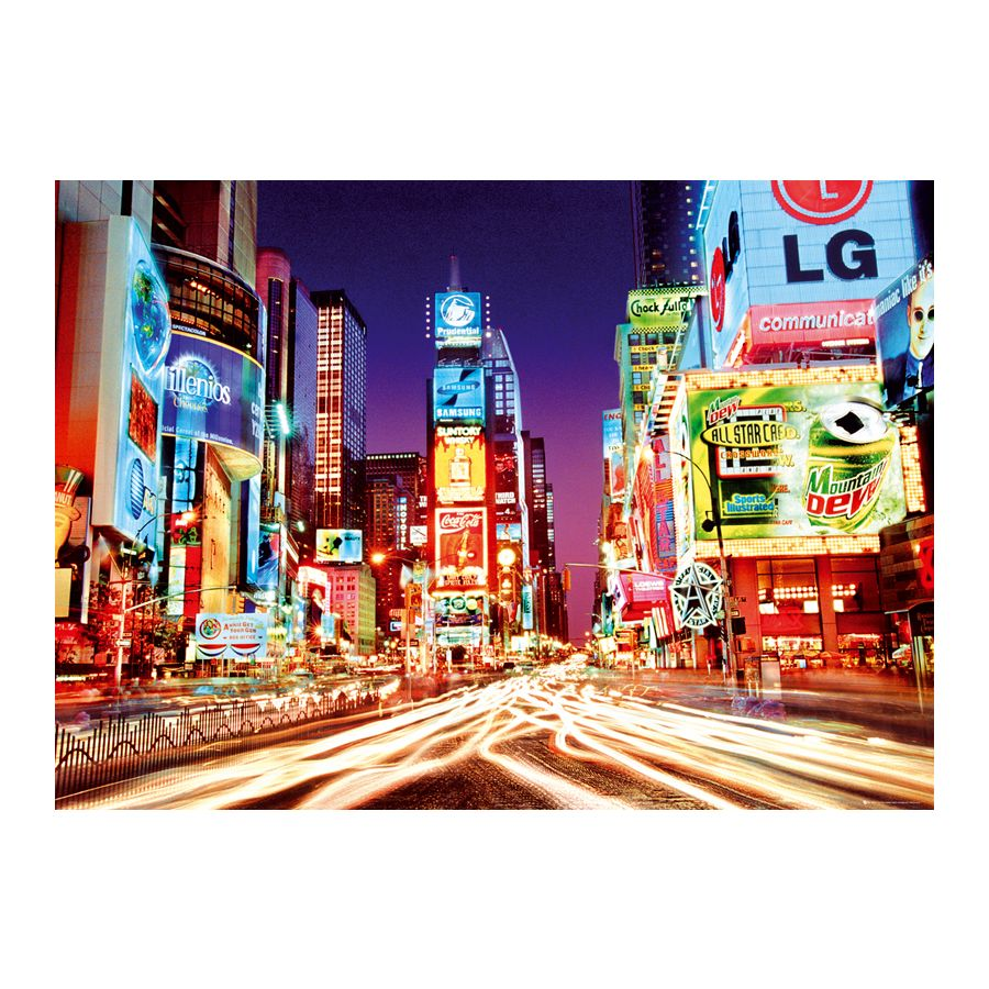 times square xxl poster new york by night xxl poster. Black Bedroom Furniture Sets. Home Design Ideas