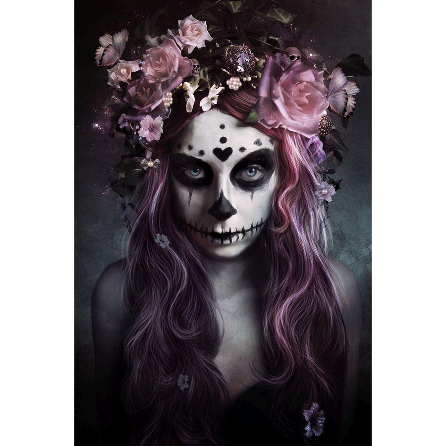 Tag Der Toten Poster Tattoo Dia De Muertos Poster Großformat Jetzt
