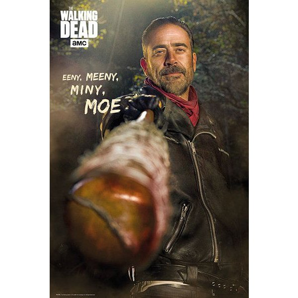 The Walking Dead Poster Negan