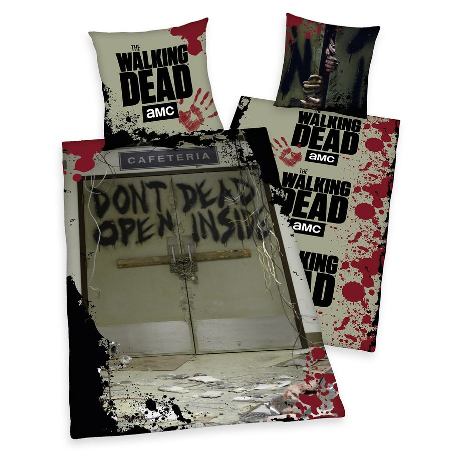 The Walking Dead Bettwäsche Dont Open Dead Inside