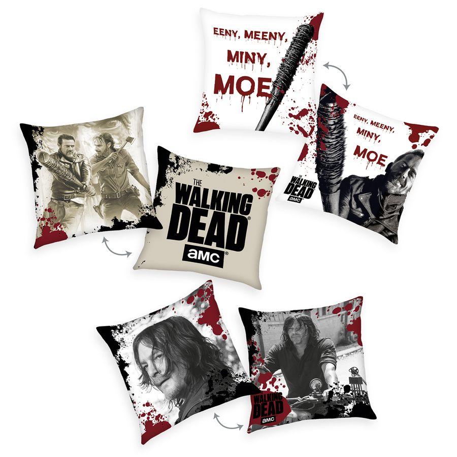 The Walking Dead 3 Er Set Dekokissen Bettwäsche Kissen Jetzt Im