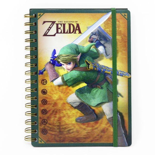The Legend of Zelda Notizbuch