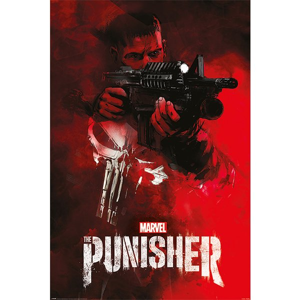 The Punisher Poster Aim