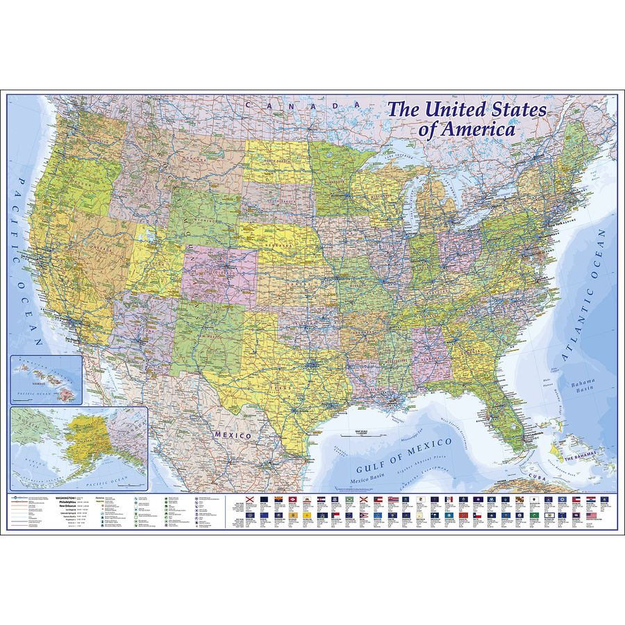 USA XXL Poster 2019 - MAPS IN MINUTES - XXL Poster jetzt im ...