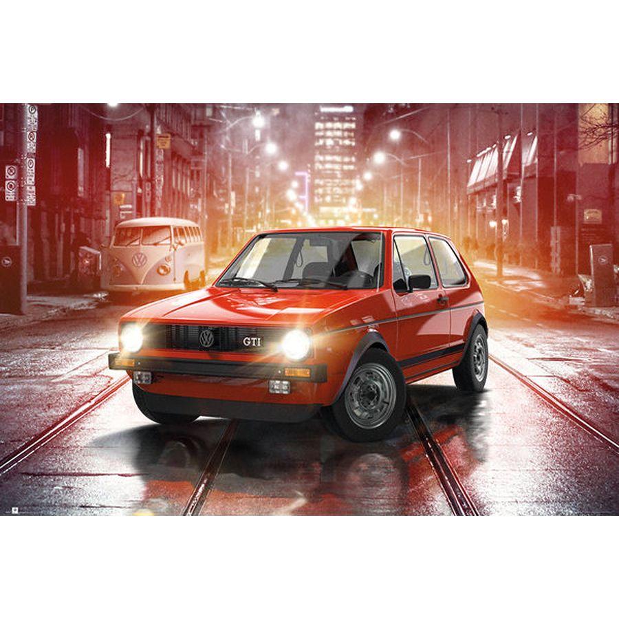 VW Golf Poster GTI - Poster Großformat jetzt im Shop bestellen Close ...