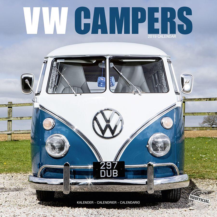 VW Bus Kalender Camper 2019 Bulli - Kalender 2019 jetzt im Shop ...