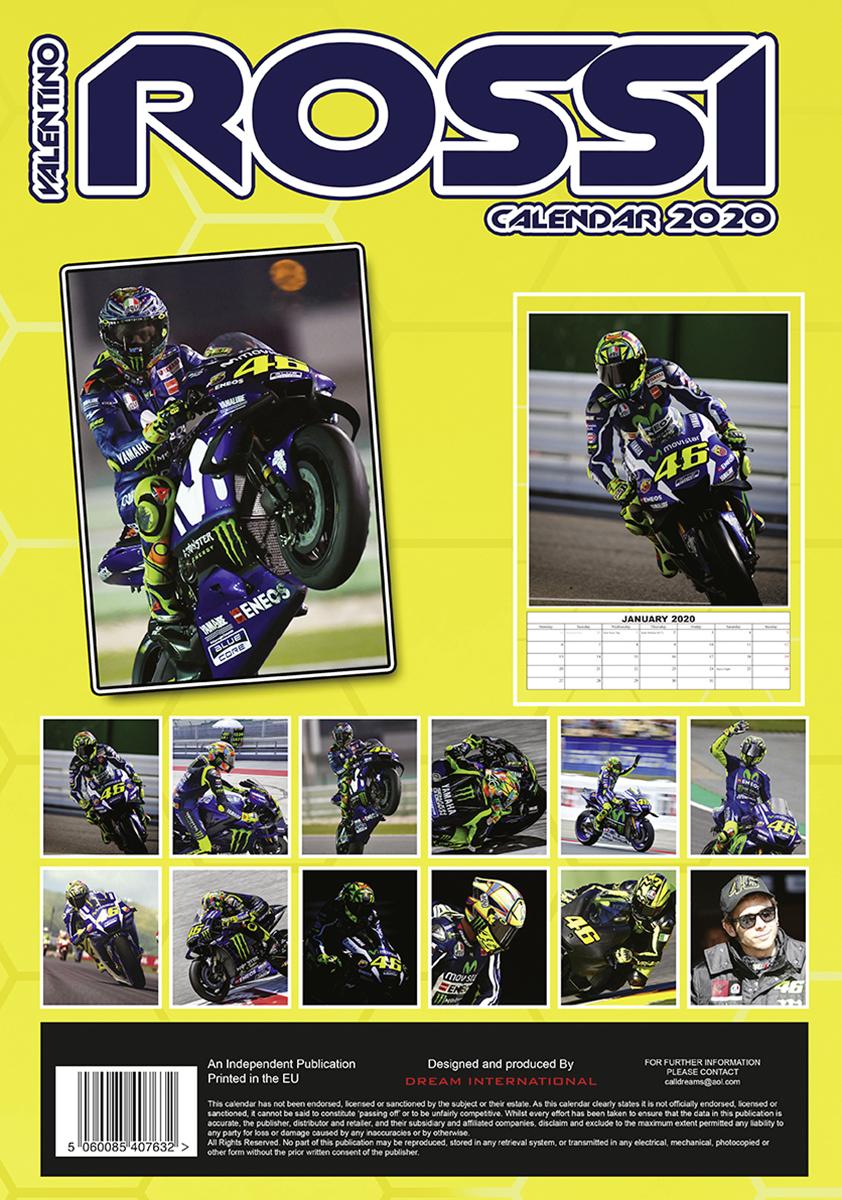 Valentino Rossi Kalender 2020 Tributkalender Kalender 2019 Jetzt