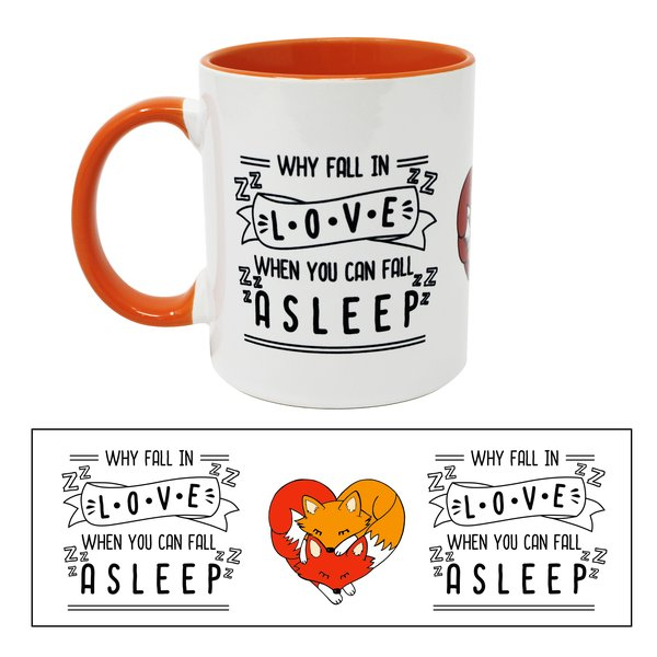 Fuchs Tasse Why Fall in Love