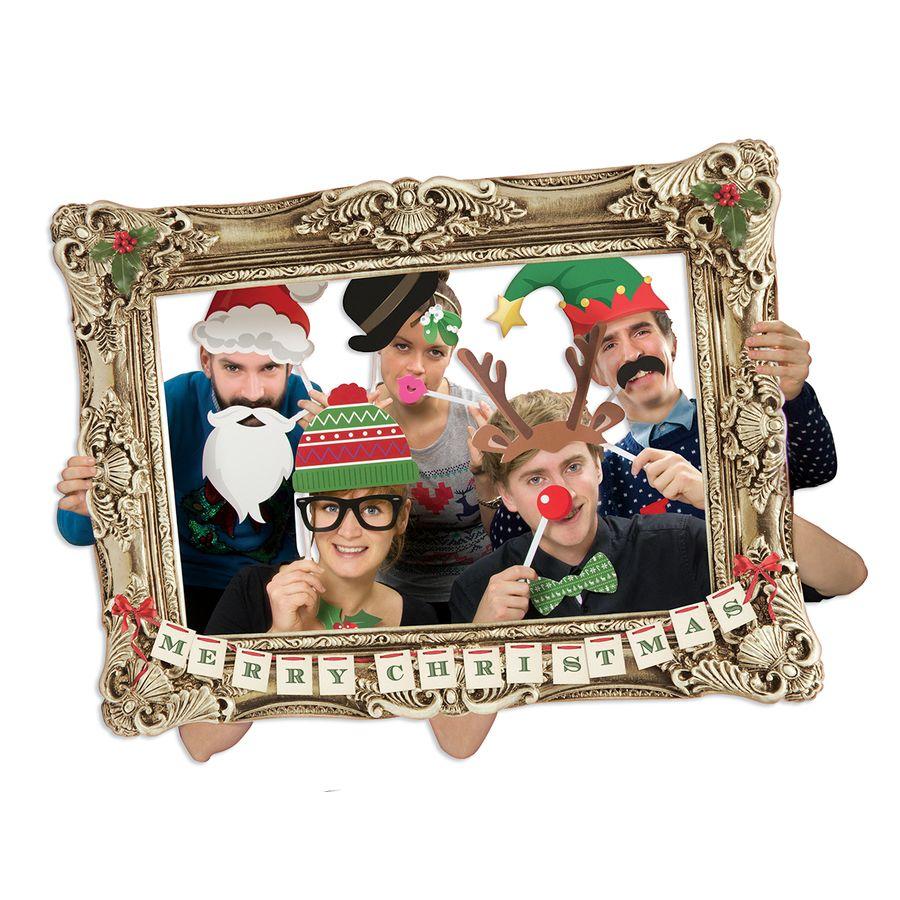 x mas photo booth requisite bilderrahmen weihnachten fanartikel jetzt im shop bestellen close. Black Bedroom Furniture Sets. Home Design Ideas